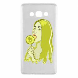 Чехол для Samsung A7 2015 Bitcoin Lollipop