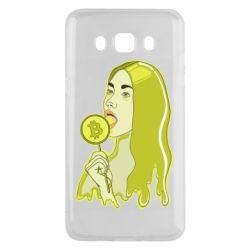 Чехол для Samsung J5 2016 Bitcoin Lollipop