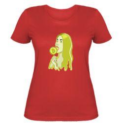 Женская футболка Bitcoin Lollipop