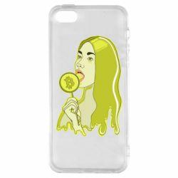 Чехол для iPhone5/5S/SE Bitcoin Lollipop