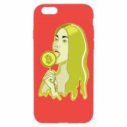 Чехол для iPhone 6/6S Bitcoin Lollipop