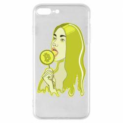 Чехол для iPhone 8 Plus Bitcoin Lollipop