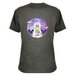 Камуфляжна футболка Bitcoin on the planet