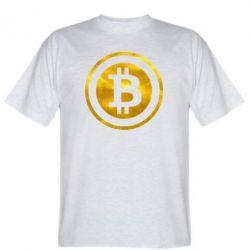 Мужская футболка Bitcoin