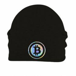 Шапка на флисе Bitcoin