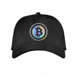 Купить Детская кепка Bitcoin, FatLine