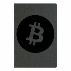 Блокнот А5 Біткоин лого