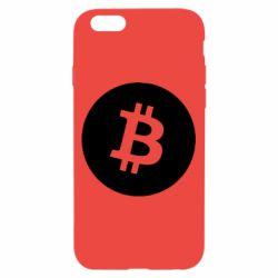 Чохол для iPhone 6/6S Біткоин лого