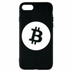 Чохол для iPhone 8 Біткоин лого