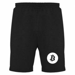 Купить Мужские шорты Биткоин лого, FatLine