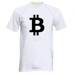 Купить Мужская спортивная футболка Биткоин, FatLine