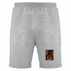 Мужские шорты Битлы - FatLine