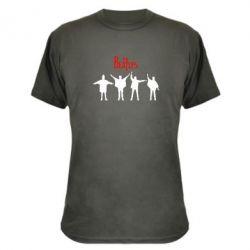 Камуфляжная футболка Битлы - FatLine