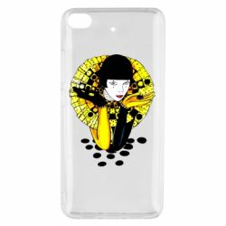 Чехол для Xiaomi Mi 5s Black and yellow clown