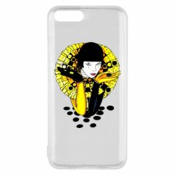 Чехол для Xiaomi Mi6 Black and yellow clown
