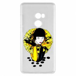 Чехол для Xiaomi Mi Mix 2 Black and yellow clown