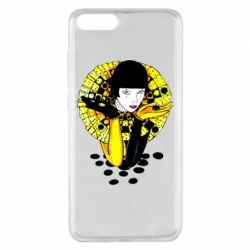 Чехол для Xiaomi Mi Note 3 Black and yellow clown