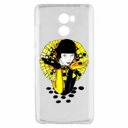 Чехол для Xiaomi Redmi 4 Black and yellow clown
