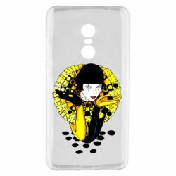 Чехол для Xiaomi Redmi Note 4 Black and yellow clown
