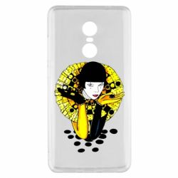 Чехол для Xiaomi Redmi Note 4x Black and yellow clown