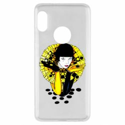 Чехол для Xiaomi Redmi Note 5 Black and yellow clown