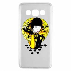 Чехол для Samsung A3 2015 Black and yellow clown