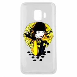 Чехол для Samsung J2 Core Black and yellow clown