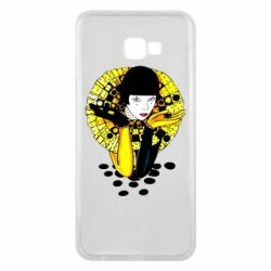 Чехол для Samsung J4 Plus 2018 Black and yellow clown