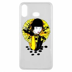 Чехол для Samsung A6s Black and yellow clown