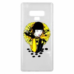 Чехол для Samsung Note 9 Black and yellow clown