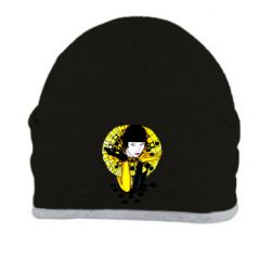 Шапка Black and yellow clown