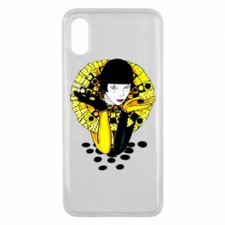 Чехол для Xiaomi Mi8 Pro Black and yellow clown