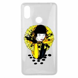 Чехол для Xiaomi Mi Max 3 Black and yellow clown