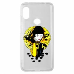 Чехол для Xiaomi Redmi Note 6 Pro Black and yellow clown