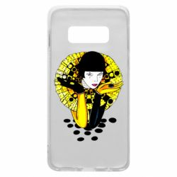 Чехол для Samsung S10e Black and yellow clown