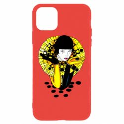 Чехол для iPhone 11 Black and yellow clown