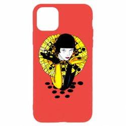 Чехол для iPhone 11 Pro Black and yellow clown