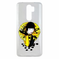Чехол для Xiaomi Redmi Note 8 Pro Black and yellow clown