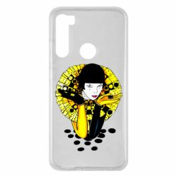 Чехол для Xiaomi Redmi Note 8 Black and yellow clown