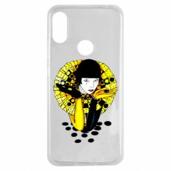 Чехол для Xiaomi Redmi Note 7 Black and yellow clown