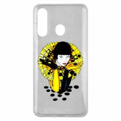 Чехол для Samsung M40 Black and yellow clown