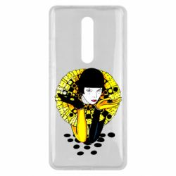 Чехол для Xiaomi Mi9T Black and yellow clown