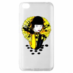 Чехол для Xiaomi Redmi Go Black and yellow clown