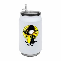 Термобанка 350ml Black and yellow clown