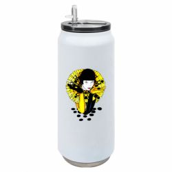 Термобанка 500ml Black and yellow clown