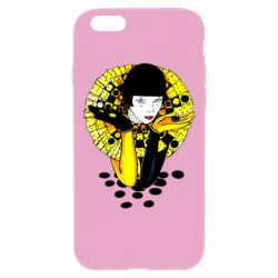 Чехол для iPhone 6 Plus/6S Plus Black and yellow clown