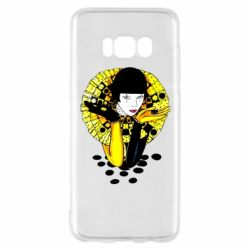 Чехол для Samsung S8 Black and yellow clown