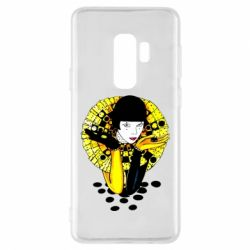Чехол для Samsung S9+ Black and yellow clown