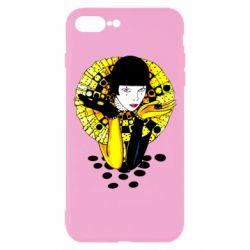 Чехол для iPhone 8 Plus Black and yellow clown