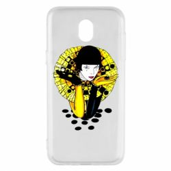 Чехол для Samsung J5 2017 Black and yellow clown